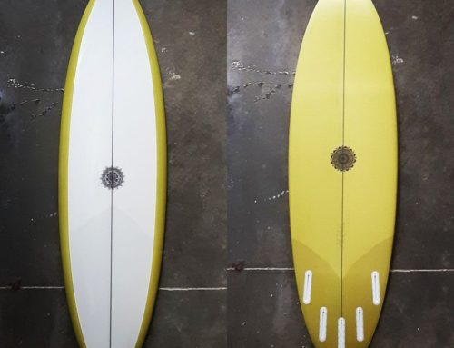 Shortboard Round tail
